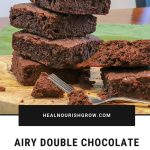 Airy Double Chocolate Brownies