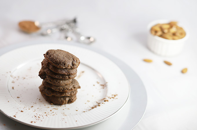 Chewy Keto Double Chocolate Chip Cookies