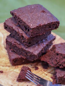 Airy Double Chocolate Keto Brownies