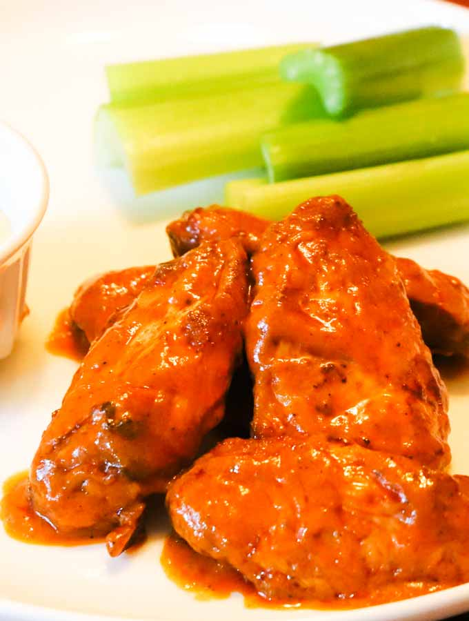 Hot Buffalo Wing Sauce - Keto Low Carb