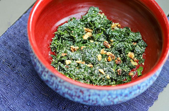 Kale Walnut Salad