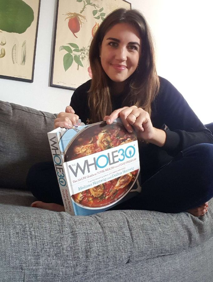 Nicole With Whole30 Book
