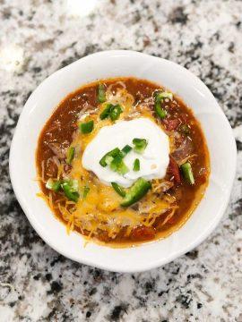 Bowl of Three Meat Chili