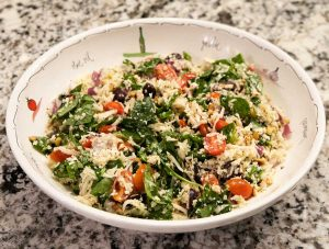 Copycat Whole Foods Greek Orzo Salad