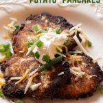 """Keto """"Potato"""" Pancakes"""