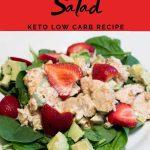 Easy Chicken Salad - Keto Low Carb Recipe