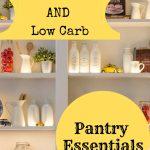 Keto Diet Essentials and Staples
