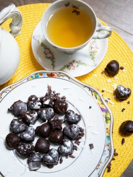 Triple Chocolate Keto Fat Bomb