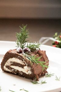 Keto Dessert Recipe Yule Log