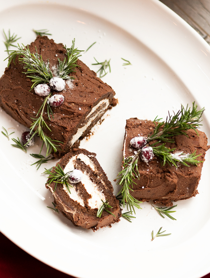 Christmas Yule Log Buche de Noel