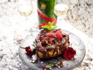 Valentine's Day Cheesecake, Keto